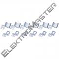 6 háčků pro LED panel 120×30cm