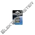 Alkalická baterie AAA Maxell R03 4 ks