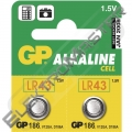 Bat. GP 1,5V  ALKALINE 11,6x4,2 186