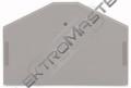 Bočnice WAGO 280-312 koncová šedá