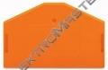 Bočnice WAGO 280-313 koncová oranžová
