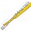 Bužírka DSG-H-1/ 2 smr.žlutá (12,4/6,4)