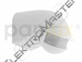 Čidlo SL-2300/B 180° bílé IP44 PANLUX