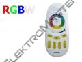 Dálkový dotykový ovladač pro LED pásky RGBW 4 zóny