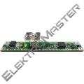 Dotykový spínač se stmívačem pro LED pásky, montáž do ALU profilu