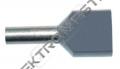 Dutinka PAEH   0,75/8mm lis.šedá dvojitá