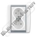 Dvojzásuvka ELEMENT 5512E-C02359 04