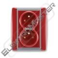 Dvojzásuvka ELEMENT 5512E-C02359 24