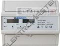 Elektroměr 9907D dvousazba LCD