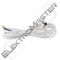 Flexo  3 m PVC kul. 3x1,50 H05VV-F bílá