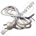 Flexo  5 m PVC kul. 3x1,00 H05VV-F bílá