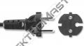 Flexo 6,3m PVC kul. 2x0,75 vidl.rov.čern