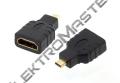 HD6B ADAPTER - REDUKCE HDMI SAMICE - HDMI SAMICE, GOLD