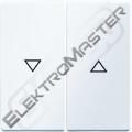 Ovladač BERKER 16256089 Q.1/Q.3 bílá s.