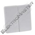 Ovladač ELSO 213504 dvojitý bílá