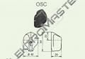 Ovladač OSC/5 pr.42 šipka střední Č