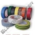 Páska izol. 15/10m PVC zelená - ELEKTRA