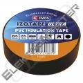 Páska izol. 19/10m PVC černá - ELEKTRA