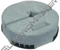 Podstavec DEHN 102340 k jím.tyči-beton