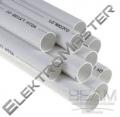 PVC potrubí - průměr 50,8mm - délka 1,5 m (síla 2mm !!!)