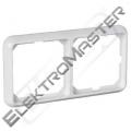 Rámeček ELSO 204204 dvojitý čistě bílá