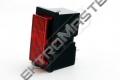 Signálka 3912-22130 rudá 250V
