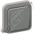 Spínač PLEXO 069811 č.6 šedá