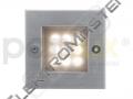 Sví. INDEX 9LED teplá stříbrná IP54 9xLE