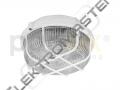 Sví. KRUH 100W E27 IP44 plast.bílé
