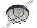 Sví. KRUH 100W E27 IP44 plast.černé