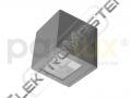 Sví. LED CANTO 2LED 2W IP54 st.bílá