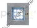 Sví. LED INDEX 9LED st.b. IP54
