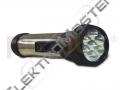 Svítilna BATERKA 7xLED IP20 černá
