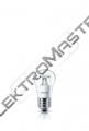 Žár.LED 4W E27 žár.b.čirá kap.CorePro
