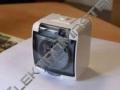 Zásuvka GHE-1d GO jednoduchá bílá+kouř.